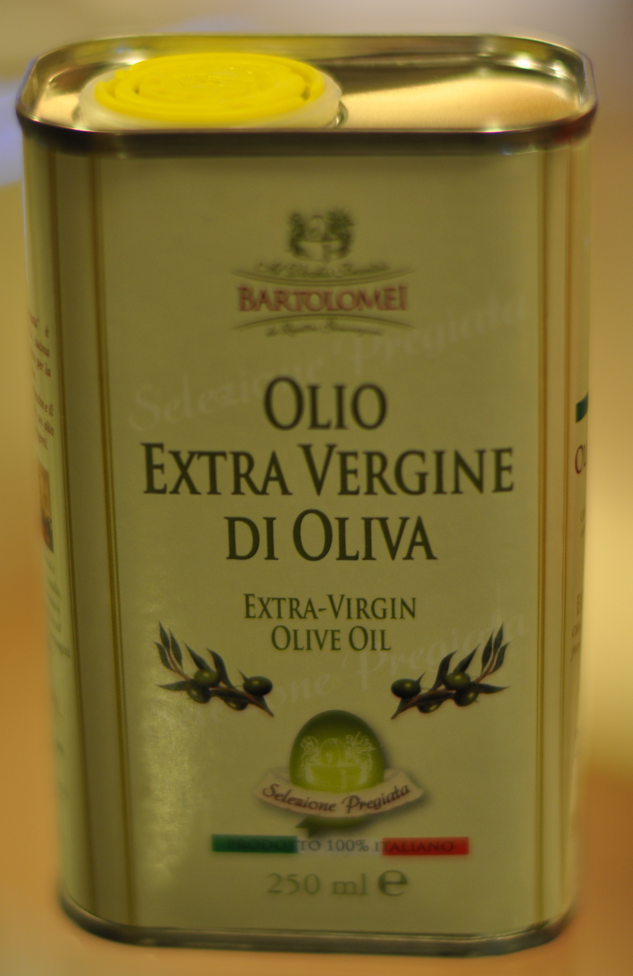 A lil olive oil goes a long way