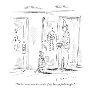 food allergy cartoon