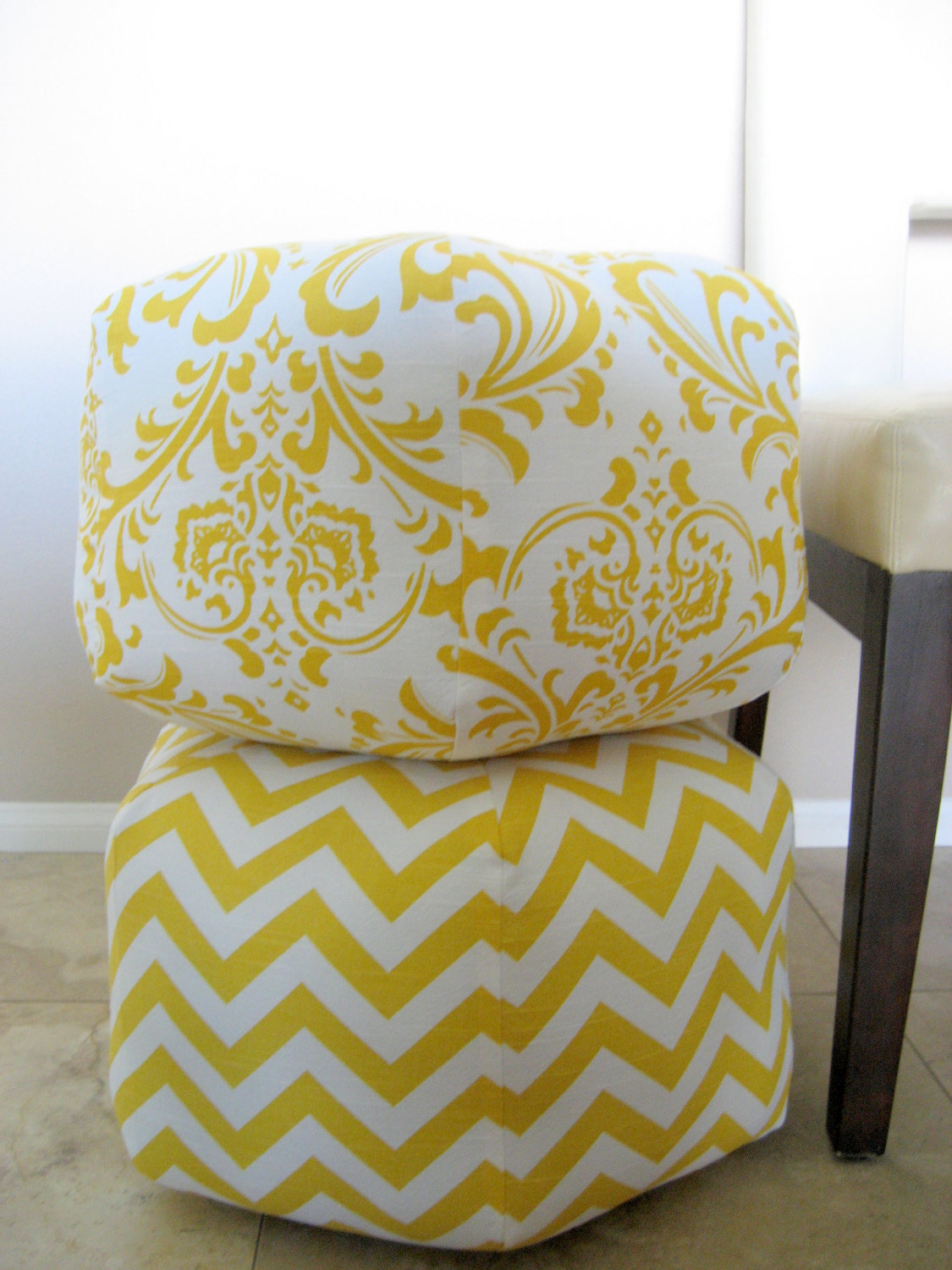diy big square pouf  a little something about everything - pouf
